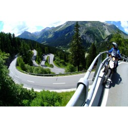 Motorcycle Tour extreme Alps and Dolomites UNESCO World Heritage