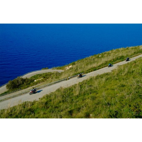 SELF GUIDED - Amazing Sicily Motorcicle Tour