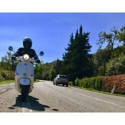 SELF GUIDED - Motorcycle Tour - Tuscany by Vespa