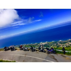 SELF GUIDED - Motorcycle Tour Sardinia, Sicily and Calabria, Italian Islands, southern Italy Tour and Amalfi Coast