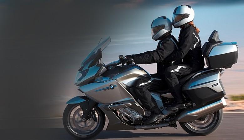 Alquiler de motocicletas BMW K 1600 GT-GTL Milán Roma Florencia Venecia Bolonia HP Motorrad